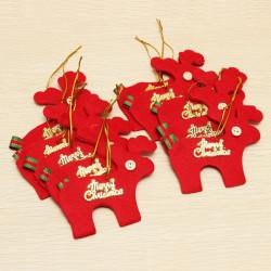 10st Julgransprydnader Elk Hängande Festival Leveranser