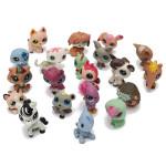 20stk Littlest Pet Shop Hund Katze Tiere Zufall Figuren Kinder Spielzeug Puppen & Kuscheltiere