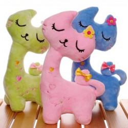 24CM Plüsch Spielzeug Bunte Katze Puppe Dekoration