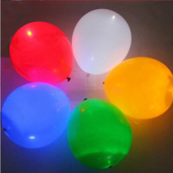 5PCS LED Light Up Balloons Luminous Balloon For Party Celebration