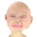 Erwachsene Lady Weinen Kinder Gesicht Maleficent Latexmaske Maske Halloween / Maskerade