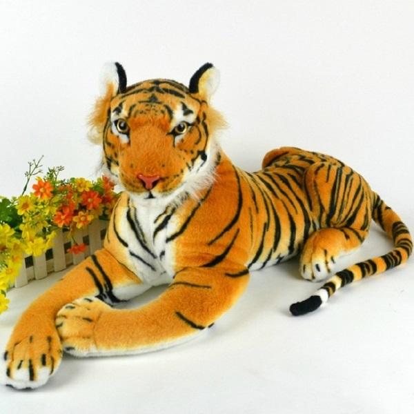 Künstliche Tiger Tier Plüsch Puppe Tuch Kinder Simulation angefüllte Spielwaren Puppen & Kuscheltiere