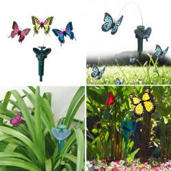 Smukke DIY Kreativ Deformation Solenergi Butterfly Legetøj