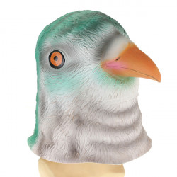 Bird Head Mask Kuslig Animal Halloween Dräkt Theater Prop
