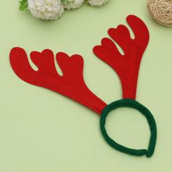Weihnachtsschmuck Red & Green Hirschhornhaarhaken