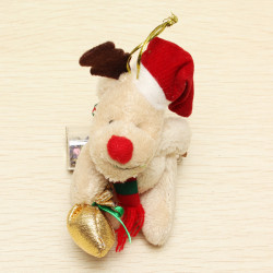 Julen Elk Plush Fabric Doll Christmas Tree Dekoration Pynt