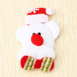 Christmas Lovely Light Brooches Christmas Supplies Kids Gift