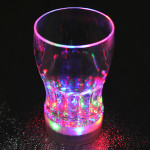 Colorful LED Flash Light Cup Whisky Shot Drink Glass Cup Beer Bar Holidays & Events Gadgets