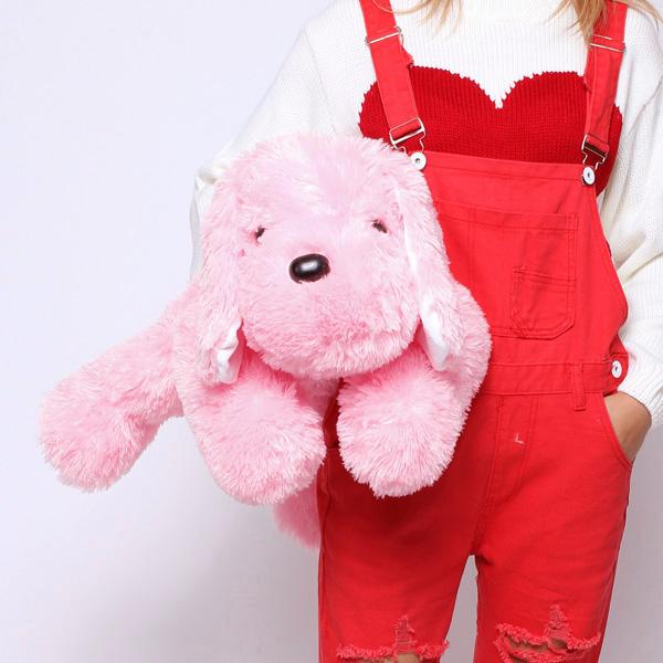 Colorful Luminous Lovers' Stuffed Plush Toy Dog Doll Dolls & Stuffed Toys