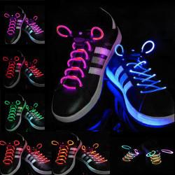 Cool 19 Color for Pick LED Flash Light Up Glow Snørebånd Party