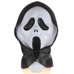 Verrückte Scared Geist Schrei Gesichtsmaske Kostüm Partei Halloween Karneval
