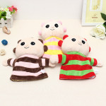 Cute Have Stuffed Doll Cartoon Hand Puppet Plush Legetøj Dukker & Tøjdyr