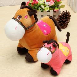 Gullig Häst Doll, Plush Leksak Horse, Alla Hjärtans Dag Gift, Kreativa Leksaker