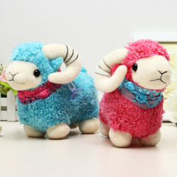 Cute Sheep Doll Toy Stuffed Cartoon Toy Kids Gift