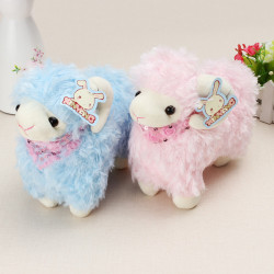 Cute Sheep Doll Toy Stuffed Cartoon Toy Kids Gift 22 cm