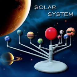 Netter Sonnenlicht Sonnensystem Himmelskörper Planeten Modell DIY Spielzeug