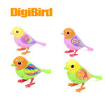 Söt Solljus Röst Solo Digibirds Sjungande Fågel Intelligent Leksak Modellbyggsatser