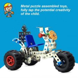 DIY Alloy Fertigmodell Spielzeug Simulation Dreirad