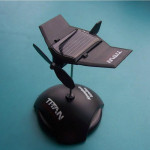 DIY Mekanisk Solar Plane Solar Power Toy Educational Gift Soldrivna Leksaker