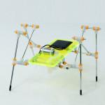 DIY pussel leksaker pedagogiska leksaker Solar Quadruped Robot Soldrivna Leksaker