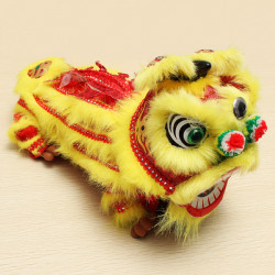 Dancing Lion Tissue Box Kinesiska Folk Konst och Hantverk