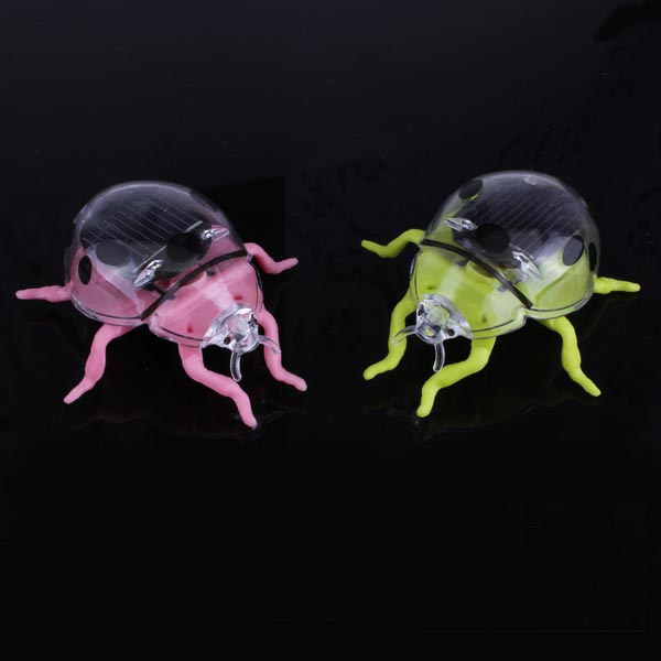 Utbildnings Solenergi Lady Beetle Solar Powered leksak Soldrivna Leksaker