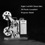Kampf Kühle DIY Metalllegierung 3D Puzzle zusammengesetzt Projektor Modell Spielzeugmodell & Modellbausätze
