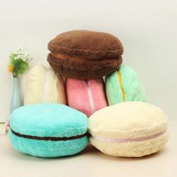 Frech Macaron Plush Round Cake Soft Toy