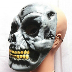Ghost Head Mask med Tricky Eyes Halloween Props
