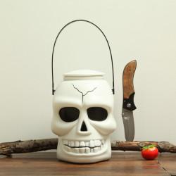 Halloween Decoration Skull Light Barrel Lantern