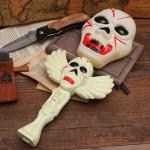 Halloween Horror Legetøj Magic Skull Wand Lampe med Sound Effect Maskerade / Halloween