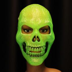 Halloween Lysende Terrorist Skull Mask