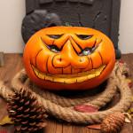 Halloween Græskars Simulation Wry Face Græskar Halloween Decoration Maskerade / Halloween