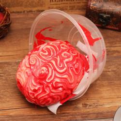 Halloween Läskigt Kroppsdelar Hjärna Fasa Stöttor Part Dekoration