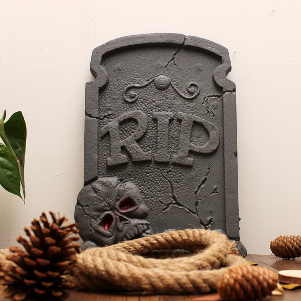 Halloween Tombstone Halloween Dekoration Barhäng Skräck Props Maskerad / Halloween