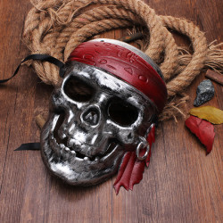 Hallowmeen Pirates of the Caribbean Skull Mask