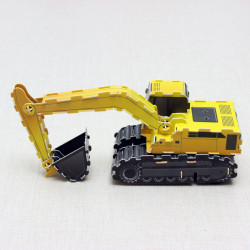 HopeWinning Classic Assemble Toy Excavator Wind-up Toy
