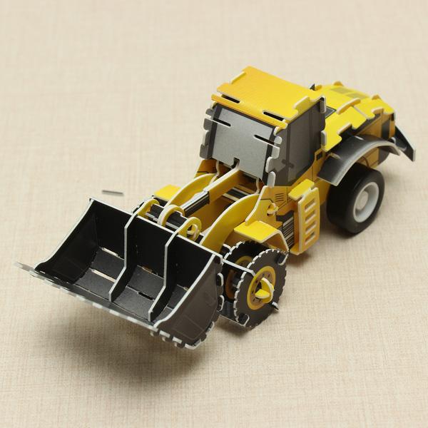 HopeWinning Klassische compages Montieren Toy Bulldozer Aufziehspielzeug Spielzeugmodell & Modellbausätze