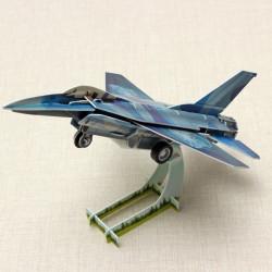 HopeWinning Klassische compages Montieren Toy F16 Kämpfer Aufziehspielzeug