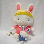 Hot Sale Plush Doll Spot Rabbit Doll Birthday Gift Dolls & Stuffed Toys