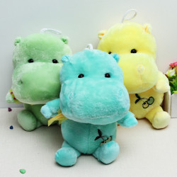 Lovely Hippo Doll Stuffed Plush Toy Creative Gift 30cm
