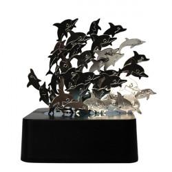 Magnetisk Skulptur DIY Kreativa Pussel Magnetisk Desktop Dekoration