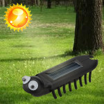 Mini Solar Power Energy Multiped Crawling Insect Educate Gadget Toy Solar Powered Toys