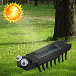 Mini Solar Power Energy Multiped Krypa Insect Utbilda Gadget Toy