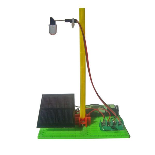 Mini Solar Rechargeable Lamp Power Generation Experiment DIY Solar Powered Toys