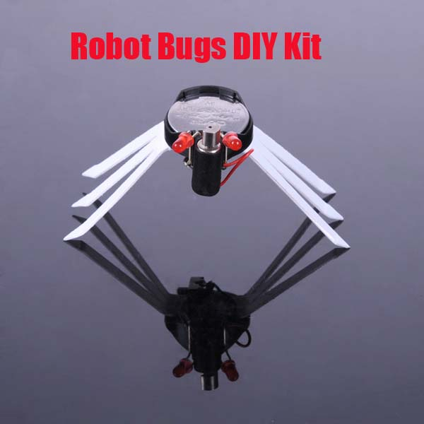 Model Assembled Bionic Technology Robot Bugs DIY Kit Toys Model