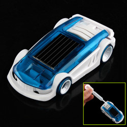 New Solar Salt Water Hybrid Car Solar Power Toy for Children Gift