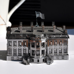 Piececool 3D Assembly Metal White House Puzzle DIY Toys