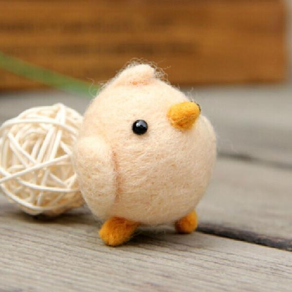 Poke Poke Fun DIY Chicken DIY Plush Phone Chain Dolls & Stuffed Toys