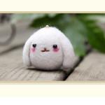 Poke Poke Fun DIY Rabbit DIY Plush Phone Chain Dolls & Stuffed Toys